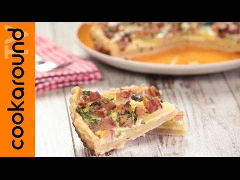 quiche rustica di patate e pancetta - la video ricetta