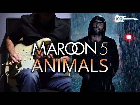 Maroon 5 – Animals – Electric Guitar Cover