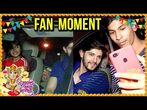 Rohan Mehra And Kanchi Singh Sweet Gesture Towards