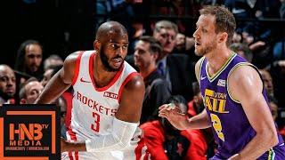 Houston Rockets vs Utah Jazz Full Game Highlights | 12.06.2018, NBA Season