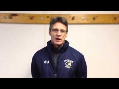 Women's Hockey: Coach Collins Recaps 2-1 Victory at Hamline