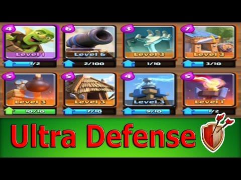 "clash royale defense deck"""