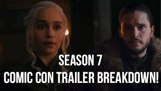 The Game of Thrones Season 7 Hype Train is at Full Speed and yesterday they released a Brand New Game of Thrones Season ...
