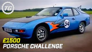Video The £1500 Porsche Challenge | Top Gear | BBC MP3, 3GP, MP4, WEBM, AVI, FLV Agustus 2019