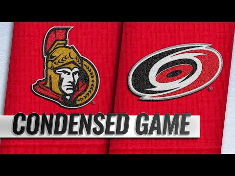 01/18/19 Condensed Game: Senators @ Hurricanes