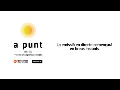 Livestream de la Diada Nacional de Catalunya - 11 de setembre de 2016