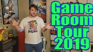 Game Room Tour 2019 (850+ Games!) by SkulShurtugalTCG