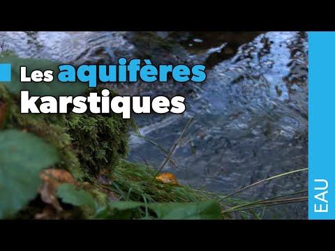 Les aquifères karstiques
