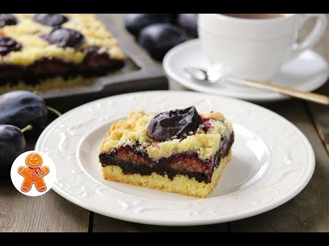 Сливовый Пирог с Шоколадом ✧ Рluм Саке wiтh Сhосоlате - DomaVideo.Ru
