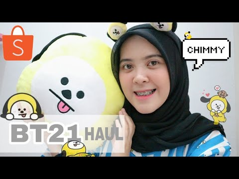Shopee HAUL: BT21 | UNBOXING | edisi chimmy | Lida Lubis