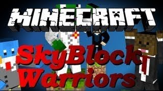 Minecraft SKYBLOCK WARRIORS w/ SkyDoesMinecraft, Kermit, and HuskyMudkipz #3