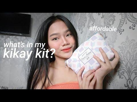 What's in my KIKAY KIT? Affordable at MAGAAN LANG 💯 (видео)