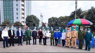 MTTQ và các đoàn thể chính trị xã hội thành phố: Thăm tặng quà, động viên các lực lượng làm nhiệm vụ phòng chống dịch