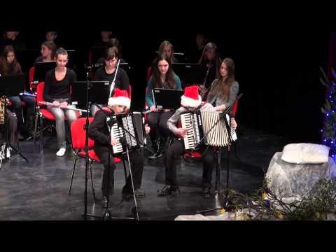 Božično-novoletni koncert Glasbene šole Lenart – video
