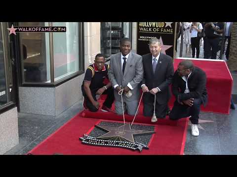 Tracy Morgan Walk of Fame Ceremony
