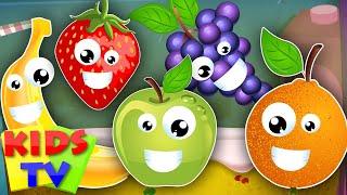 Video five little fruits | learn fruits | fruits song | kids songs | nursery rhymes kids TV MP3, 3GP, MP4, WEBM, AVI, FLV November 2017