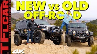 Old vs New: Is The Latest and Greatest Jeep Wrangler Really That Much Better Than The Old One? by The Fast Lane Car