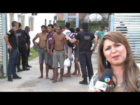 Policia prende em Cruzeiro do sul 74 pesssoas em operação 01 09 2014