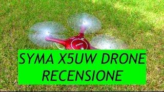 Recensione Drone Syma X5UW Low Cost ma divertente