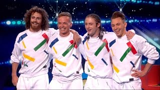 Dance troupe, OK Worldwide, in Britain's Got Talent 2015 Semi-Final 4.