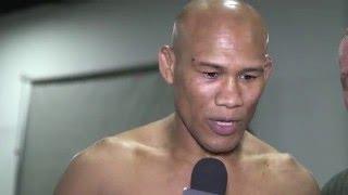 UFC 198: Jacare Souza Backstage Interview by UFC