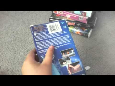 My Damaged VHS tape collection Remake 6/26/13