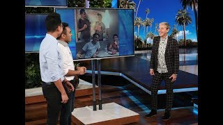 Video Ellen Has a Big Surprise for Viral McDonald's Pranksters MP3, 3GP, MP4, WEBM, AVI, FLV Desember 2018