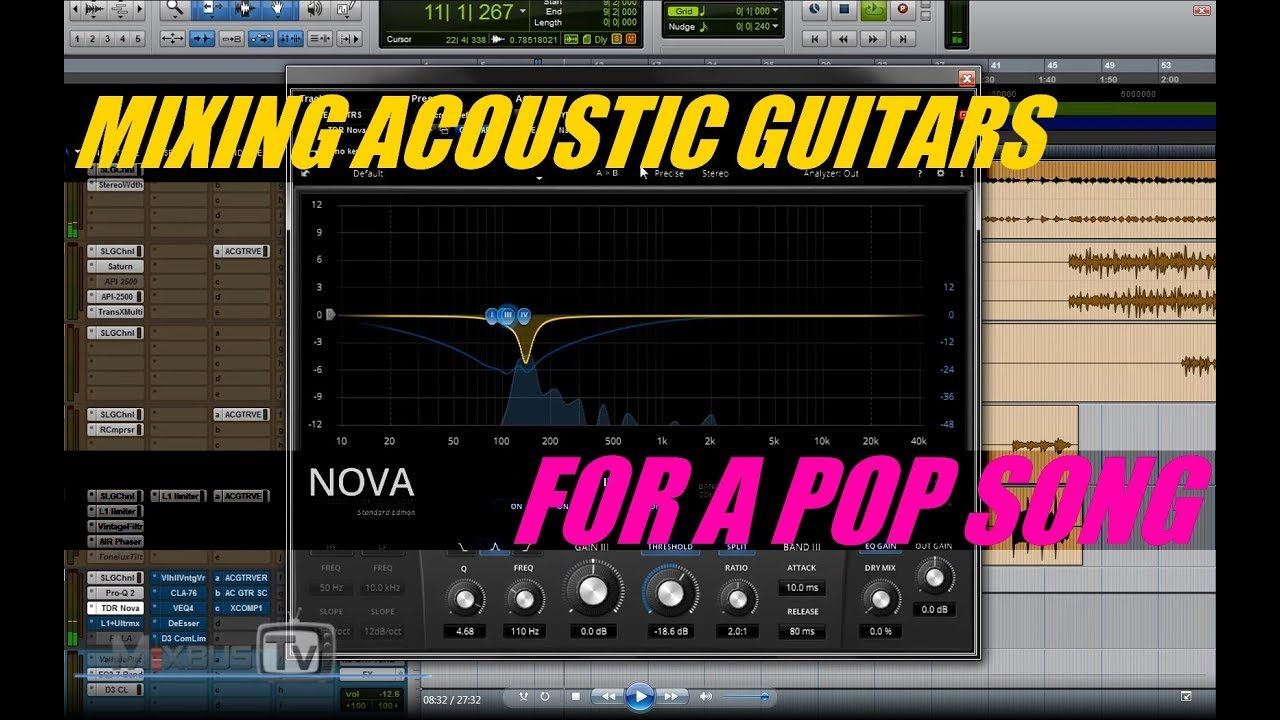 Creative Mix tricks for Electric Guitars for Pop: Mono to Stereo Effects for Wider and Clearer Mix