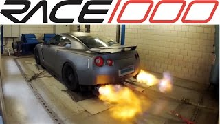 Nissan GT-R 1118 HP / Dyno Run / LOUD Sound & Flames (TotalCarConcept.nl)