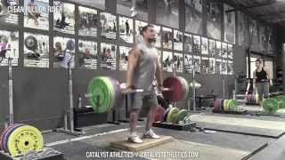 Clean Pull On Riser - Clean Exercises - Exercise demo vi