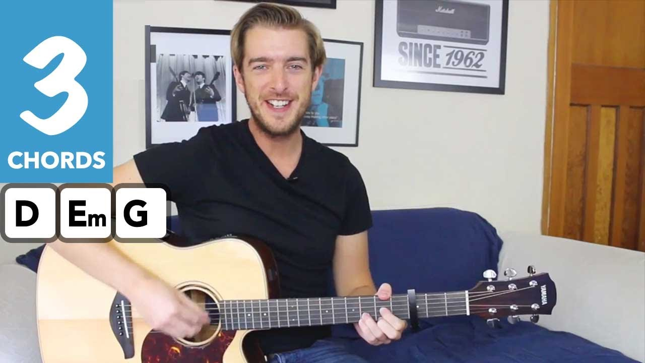Marry You – Bruno Mars – Easy 3 Chord Guitar Song Tutorial Guitar Lesson