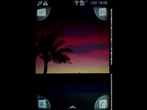 Video of Sunrise Sunset Live Wallpaper