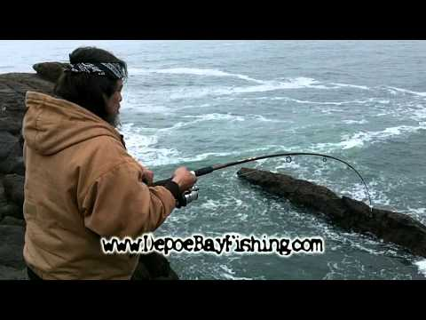Catching Ling Cod in Depoe Bay, Oregon – Spring 2011