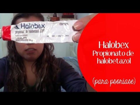 Halobex - Propionato de halobetasol - para psoríase