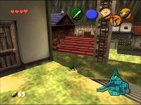 The Half Hour Shower: The Legend of Zelda: Ocarina of Time - Ep. 4 - CHICKENS!