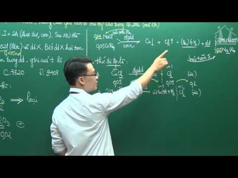 Hướng dẫn giải đề môn Hóa THPT QG 2016(P3) - Thầy Vũ Khắc Ngọc