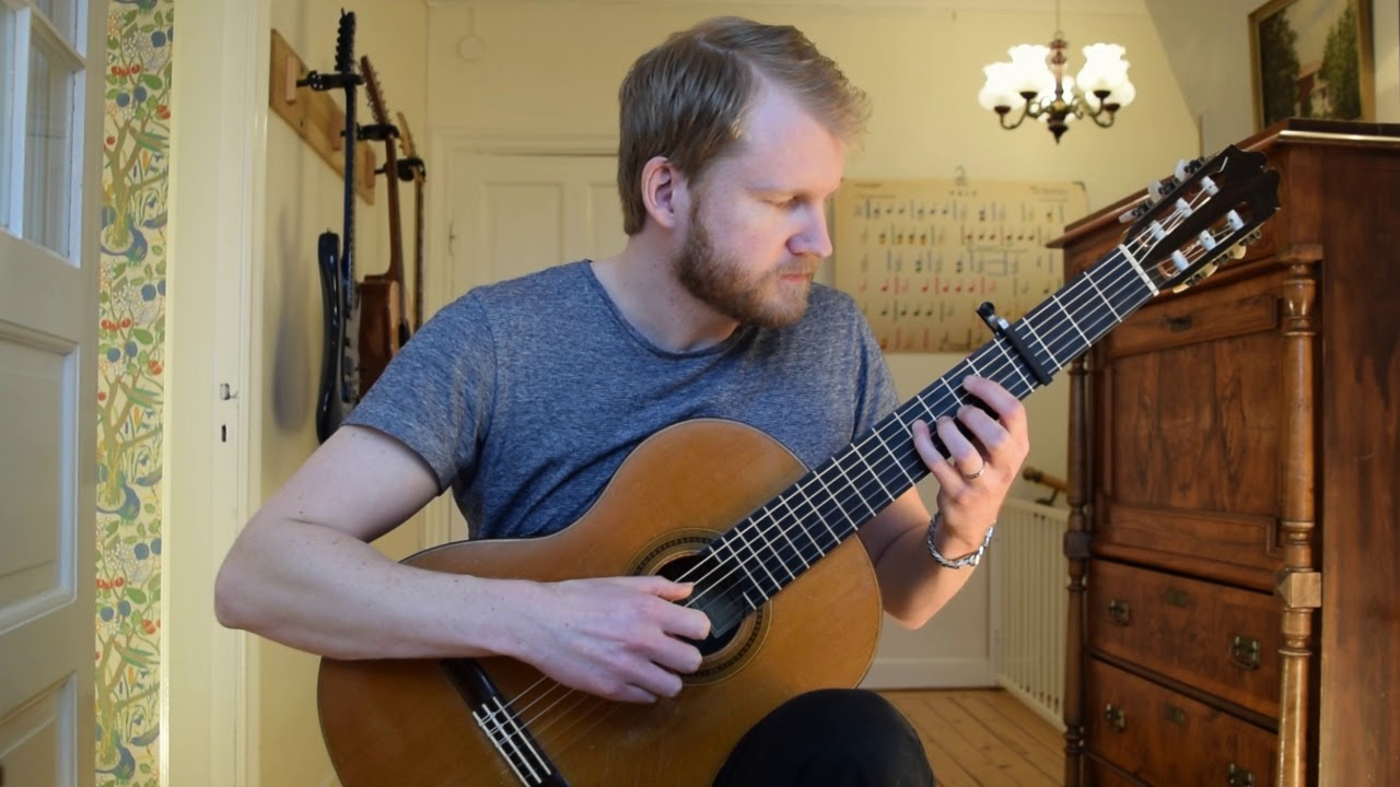 For My Father – Andy McKee (Acoustic Classical Guitar Fingerstyle Cover)
