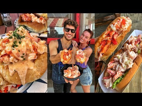 EPIC LOBSTER ROLL TOUR In Connecticut - Food Crawl - DEVOUR POWER