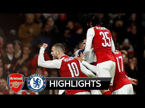 Arsenal vs Chelsea 2-1 All Goals & Highlights 24/01/2018