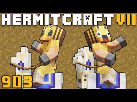 Hermitcraft VII 903 Loads Of Llamas! видео