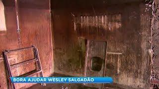 Após incêndio, dono da Wesley Salgadão em Marília conta com ajuda para reabrir o negócio