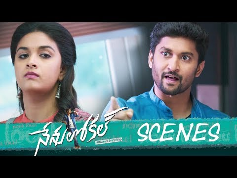 Nenu Local Movie - Love Proposal in College Scene  - Nani, Keerthy Suresh