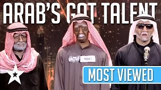 Video MOST VIEWED Auditions EVER On Arab's Got Talent! Got Talent Global MP3, 3GP, MP4, WEBM, AVI, FLV Desember 2018