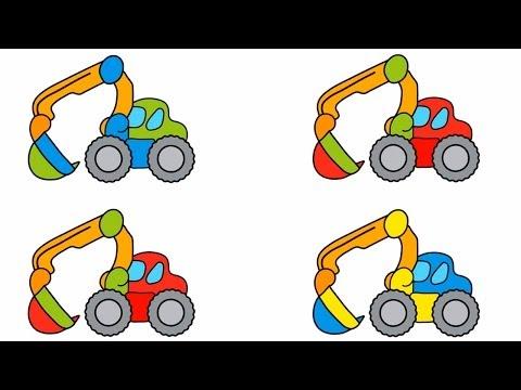 Развивающие Игры для Детей - машинки и картинки
