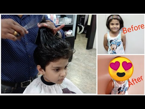 Summer Haircut Transformation for Kids My daughter's New haircut