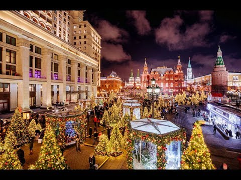 WELCOME: Moscow Is Among World's Five Top Destination for Christmas Vacation (видео)