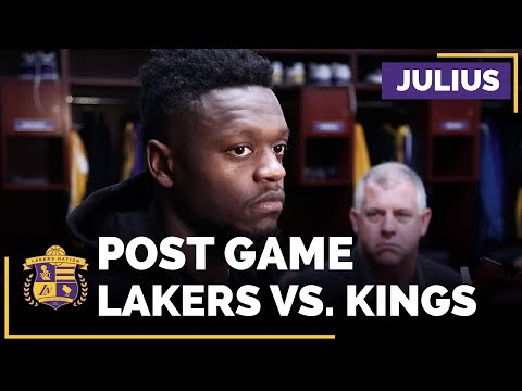 Video: Julius Randle Talks Zach Randolph, Loves Playing With Brook Lopez