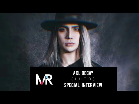 Special Interview : Axl Decay ( Luto Band) English subtitles #LutoBand #CartasDeVincent #AxlDecay
