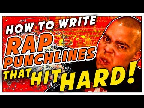 How To Write Rap Punchlines That Hit Hard! - ColeMizeStudios.com