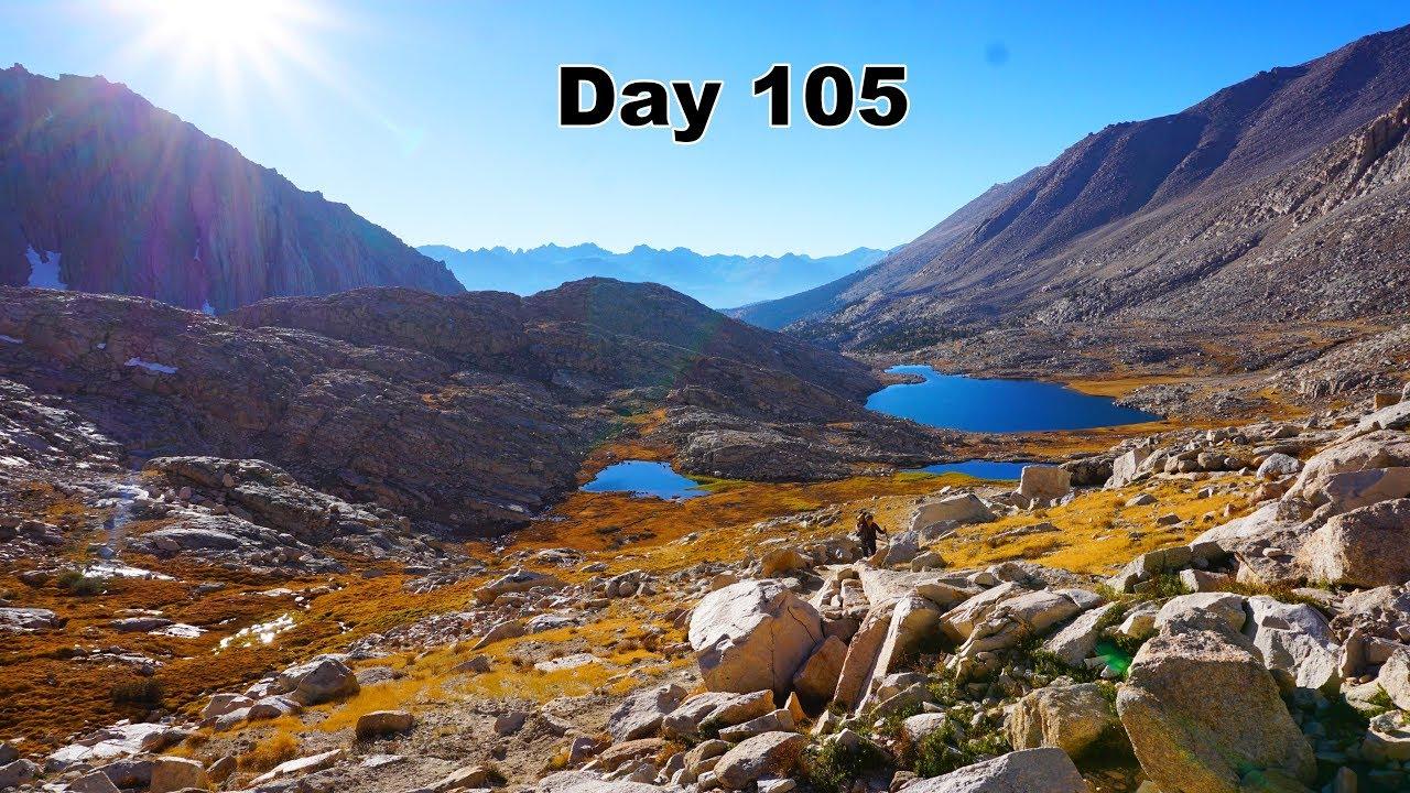 105 PCT – Camping near Guitar Lake
